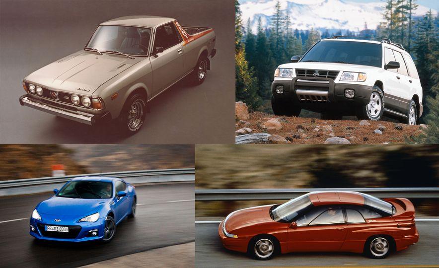 A Visual History of Subaru's 50 Years in America - Slide 1