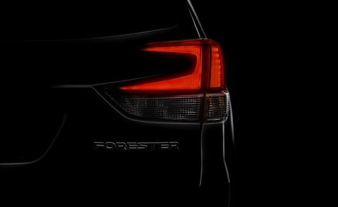 2019 Subaru Forester To Debut Later This Month News Car And Driver