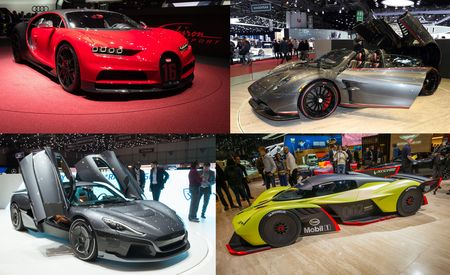 The Superest Supercars at the 2018 Geneva Auto Show
