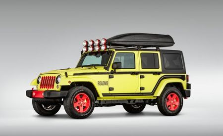 Eight Is Enough: Super 8 Unveils a Zany Concept Jeep