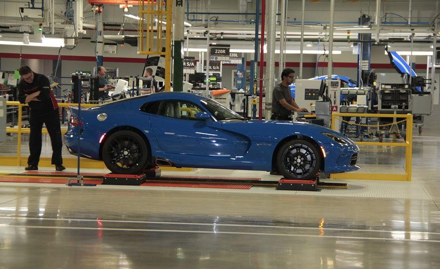 The Dodge Viper Is Dead, But Its Factory Will House FCA's Historic Car Collection - Slide 3