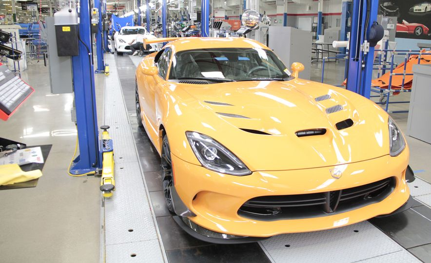 The Dodge Viper Is Dead, But Its Factory Will House FCA's Historic Car Collection - Slide 2