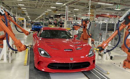 The Dodge Viper Is Dead, But Its Factory Will House FCA's Historic Car Collection