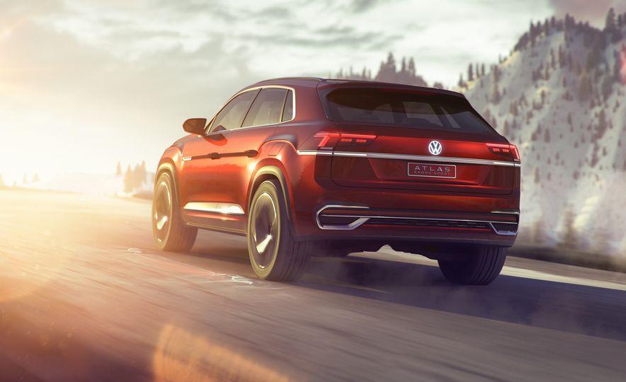 Volkswagen Atlas Cross Sport concept - Slide 20