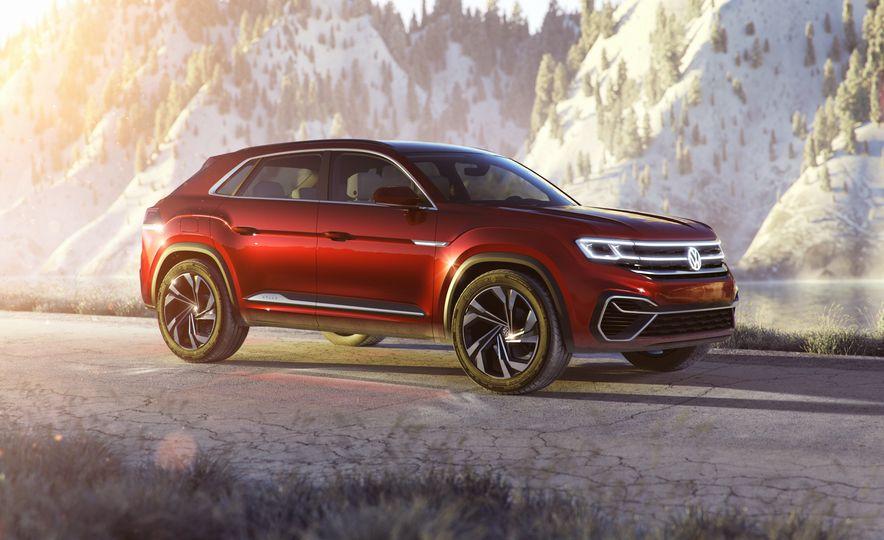 Volkswagen Atlas Cross Sport concept - Slide 21