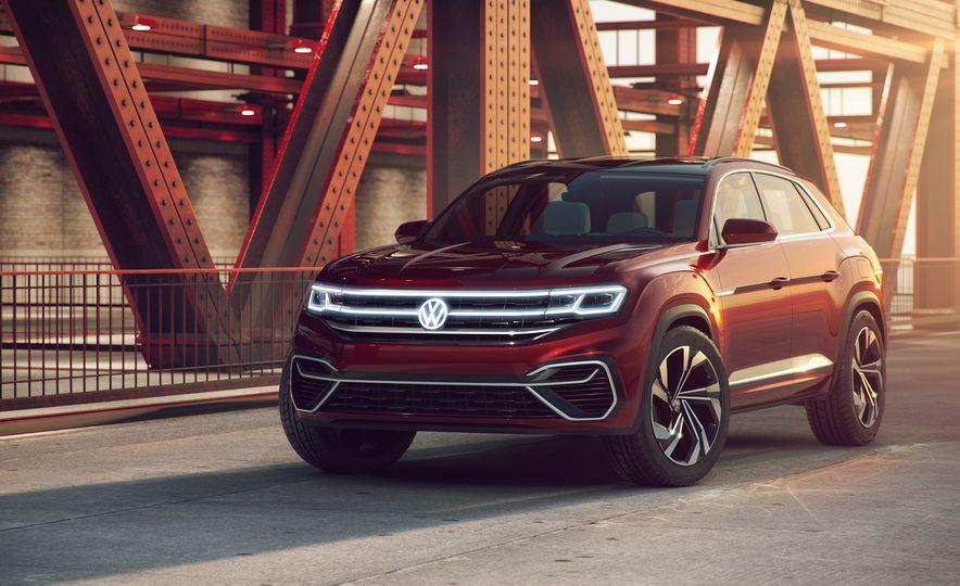 Volkswagen Atlas Cross Sport concept - Slide 22