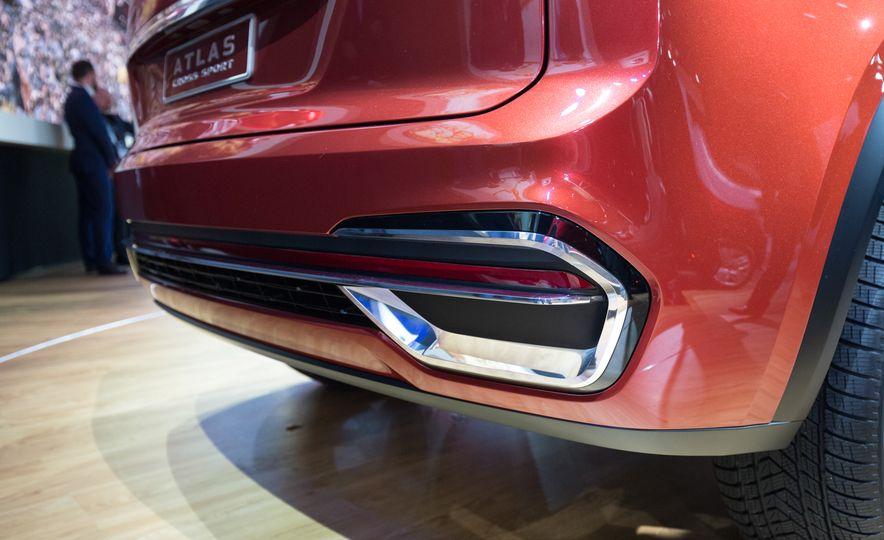 Volkswagen Atlas Cross Sport concept - Slide 9