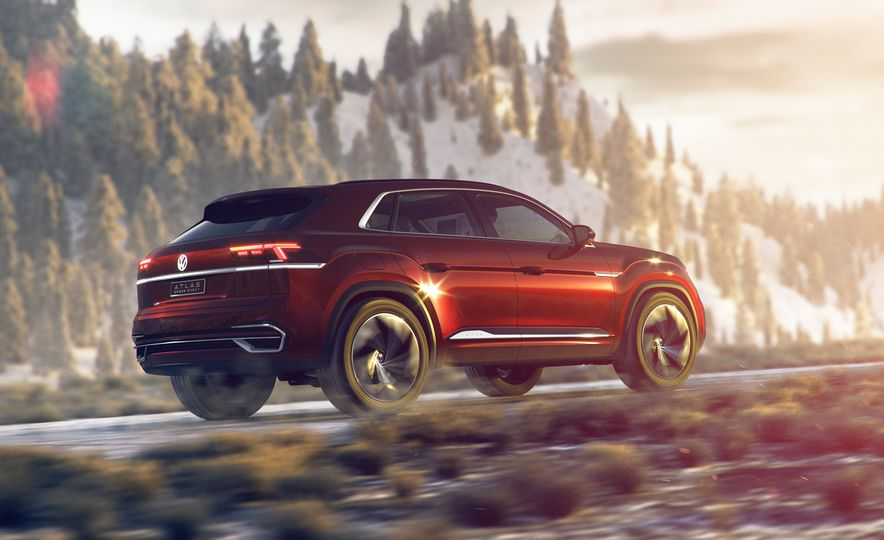 Volkswagen Atlas Cross Sport concept - Slide 1