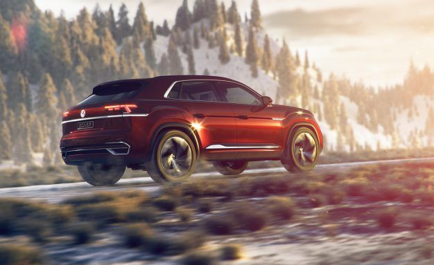 Volkswagen Atlas Cross Sport Concept: More Sport, Less Utility
