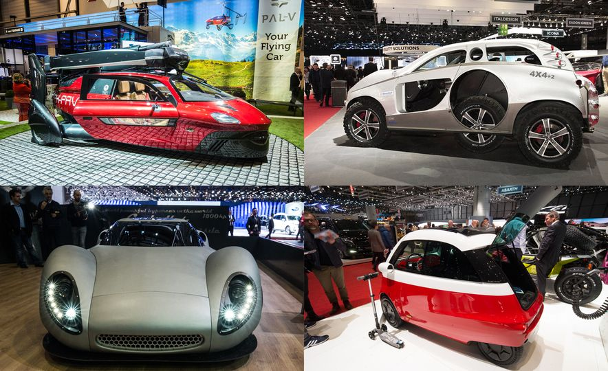 The Wildest, Weirdest Stuff from the 2018 Geneva Auto Show - Slide 1