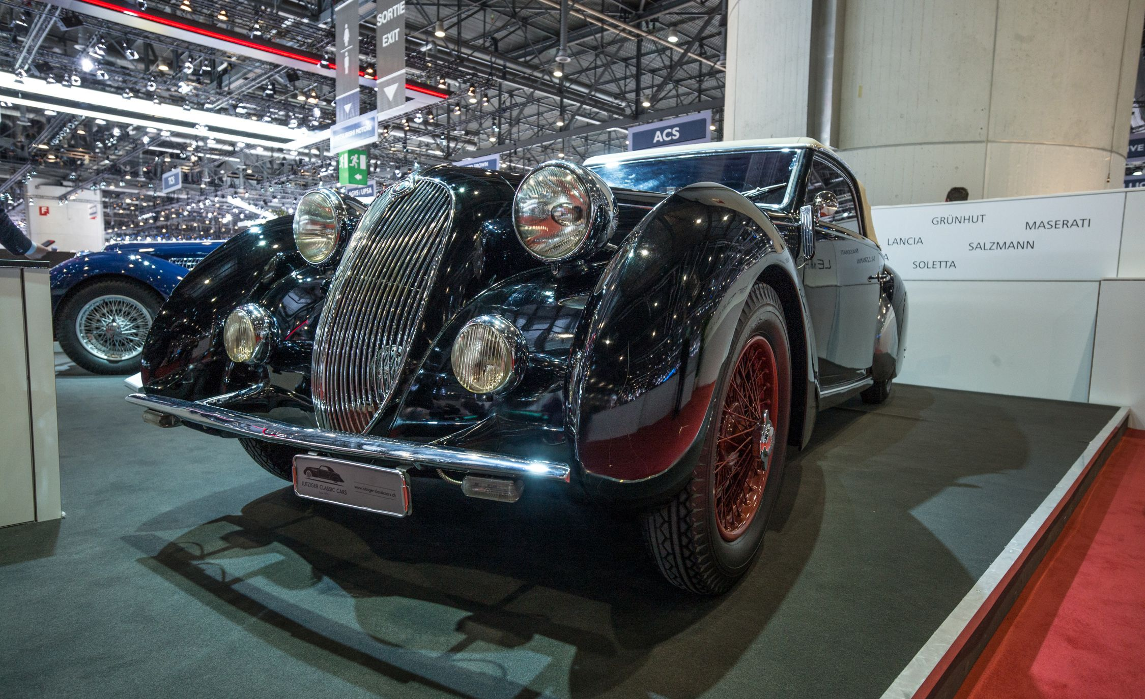 The Coolest Vintage Cars at the 2018 Geneva Auto Show   Flipbook ...