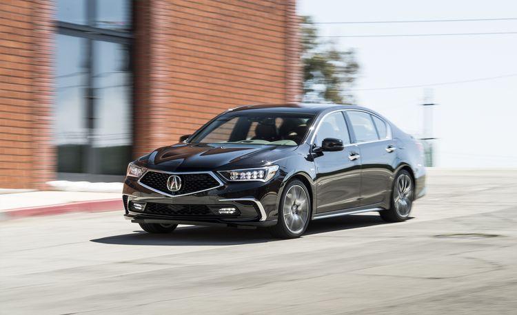 2018 Acura RLX Sport Hybrid SH-AWD – Instrumented Test