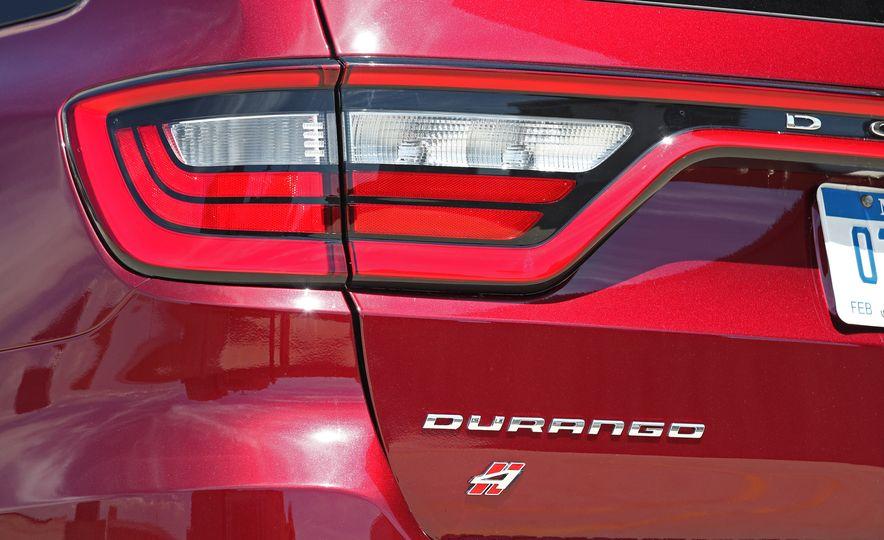 2018 Dodge Durango SRT - Slide 36
