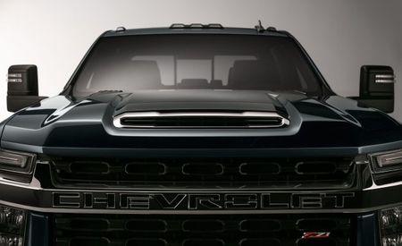 Reporting for Heavy Duty: Chevrolet Teases 2020 Silverado HD