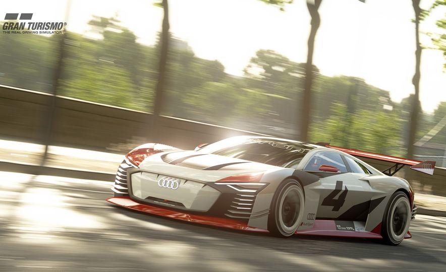Audi e-tron Vision Gran Turismo - Slide 1