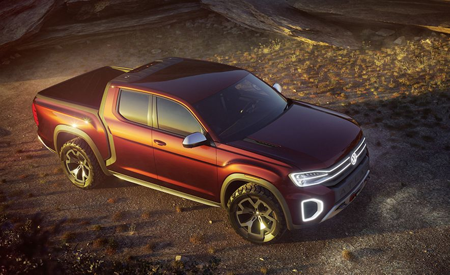 10 Reasons Why Volkswagen Could—and Should—Build the Tanoak Pickup Truck Concept - Slide 1
