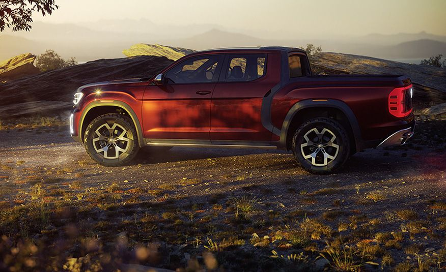 10 Reasons Why Volkswagen Could—and Should—Build the Tanoak Pickup Truck Concept - Slide 4