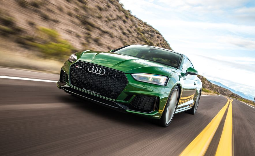 Nine Things You Might Not Know about the 2018 Audi RS5 Coupe - Slide 8