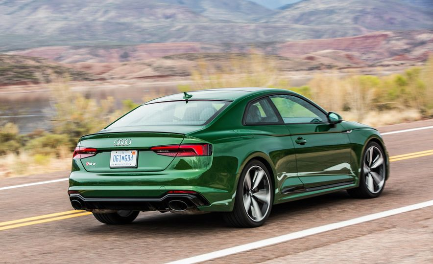 Nine Things You Might Not Know about the 2018 Audi RS5 Coupe - Slide 6