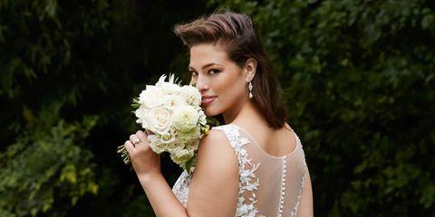 Clothing, Petal, Shoulder, Dress, Photograph, Bouquet, Flower, Bridal clothing, Wedding dress, Bride,
