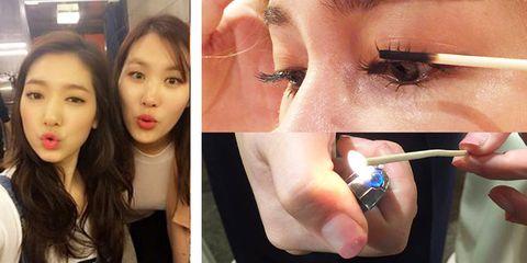 Lip, Finger, Brown, Skin, Eyebrow, Eyelash, Organ, Beauty, Nail, Cosmetics,