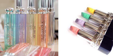 Pink, Liquid, Lipstick, Peach, Colorfulness, Stationery, Cosmetics, Tints and shades, Aqua, Material property,