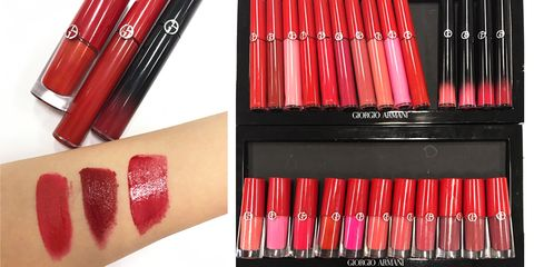 Red, Stationery, Pink, Lipstick, Tints and shades, Office supplies, Writing implement, Carmine, Magenta, Cosmetics,