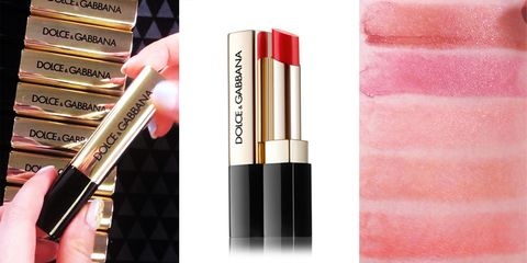 Pink, Cosmetics, Product, Beauty, Lip gloss, Lipstick, Lip care, Material property, Tints and shades, Gloss,