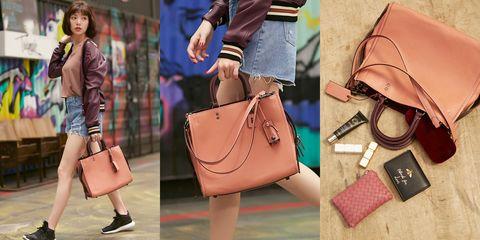 Handbag, Bag, Street fashion, Leather, Brown, Fashion accessory, Fashion, Satchel, Shoulder, Beige,