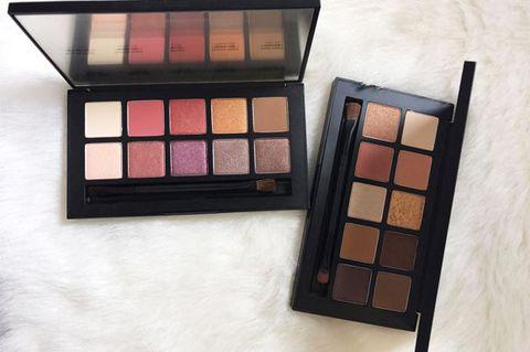 Brown, Tints and shades, Eye shadow, Beauty, Cosmetics, Purple, Peach, Tan, Paint, Maroon,