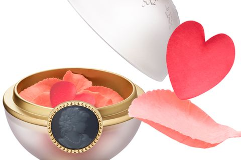 Pink, Carmine, Peach, Heart, Material property, Lipstick, Circle, Love, Cosmetics, Party favor,