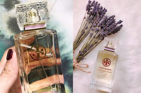 Perfume, Product, Water, Bottle, Hand, Plant, Flower, Liquid, Lavender, Fluid,