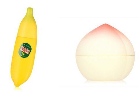 Yellow, Fruit, Beige, Peach, Banana family, Banana, Produce, Natural foods,