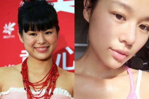 Nose, Lip, Hairstyle, Skin, Eye, Chin, Forehead, Eyebrow, Eyelash, Facial expression,
