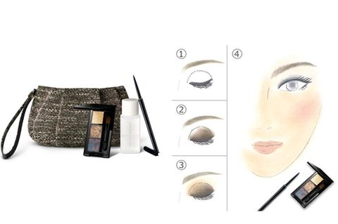 Eyelash, Cable, Beige, Earrings, Eye liner, Cosmetics, Makeover, Makeup brushes, Wire, Eye shadow,
