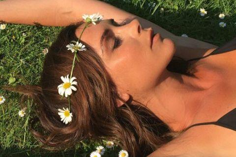 Brown, Petal, Flower, Beauty, Organ, Brassiere, Black hair, Youth, Photography, Long hair,