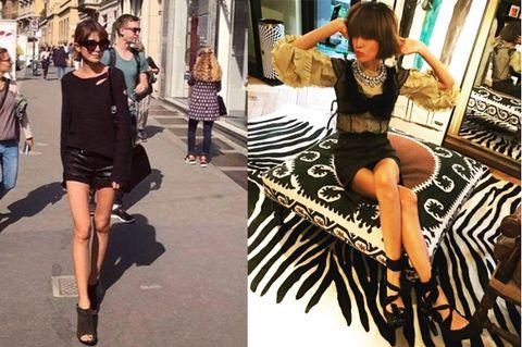 Street fashion, Fashion, Clothing, Leg, Footwear, Fashion model, Snapshot, Photography, Dress, Model,