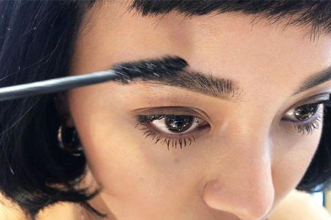 Eyebrow, Face, Eyelash, Hair, Forehead, Eye, Nose, Skin, Beauty, Head,
