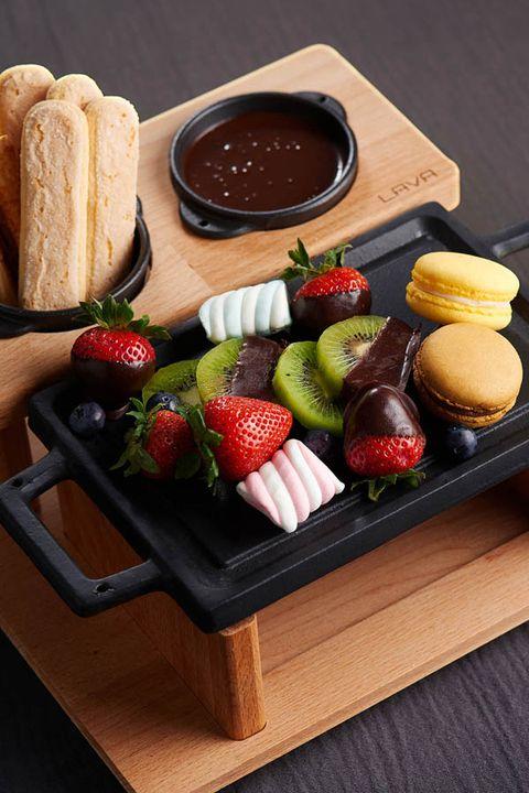 Food, Serveware, Tableware, Ingredient, Cuisine, Natural foods, Bread, Meal, Produce, Strawberry,
