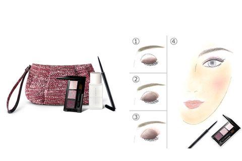 Eyelash, Lipstick, Eye liner, Earrings,