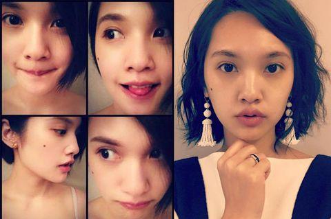 Nose, Lip, Cheek, Eye, Brown, Hairstyle, Skin, Chin, Forehead, Eyelash,