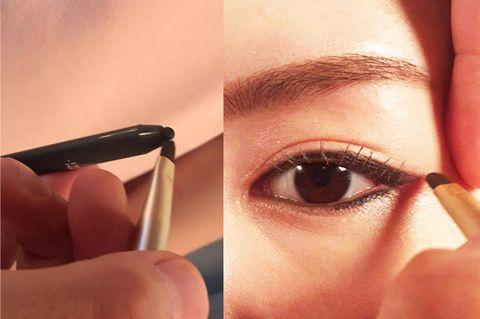 Finger, Lip, Brown, Skin, Eyebrow, Eyelash, Organ, Iris, Nail, Tints and shades,