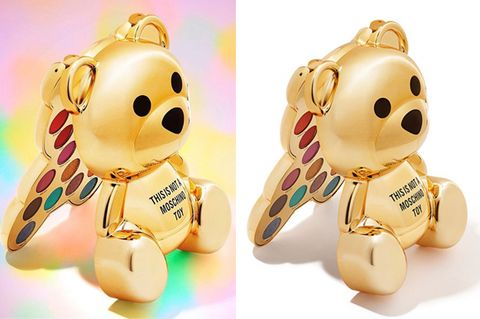 Yellow, Teddy bear, Product, Keychain, Toy, Fashion accessory, Puppy, Stuffed toy, Smile, Ear,
