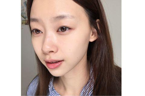Lip, Cheek, Brown, Hairstyle, Skin, Chin, Forehead, Eyebrow, Eyelash, Facial expression,