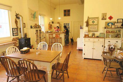Wood, Room, Interior design, Furniture, Table, Floor, Chair, Hardwood, Flooring, Dining room,