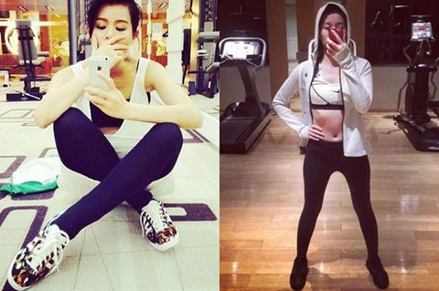 Style, Thigh, Active pants, Physical fitness,