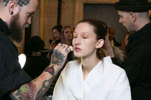 Hair, Face, Nose, Ear, Human, Mouth, Eye, Skin, Facial hair, Tattoo,