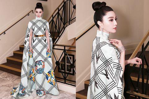 Clothing, White, Fashion, Fashion model, Fashion design, Yellow, Street fashion, Sleeve, Neck, Dress,