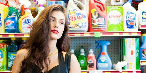 Retail, Bottle, Plastic bottle, Logo, Convenience store, Drink, Grocery store, Brown hair, Blond, Supermarket,