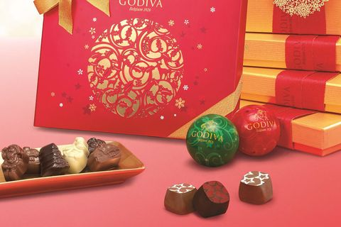 Sweetness, Confectionery, Dessert, Chocolate, Candy, Present, Gift wrapping, Collection, Paper product, Box,